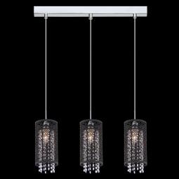 фото Подвесной светильник Eurosvet 1180, 1181 1180/3 хром Eurosvet