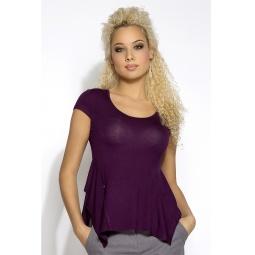 """Купить Блуза """"Лулу"""" - фиолетовый"""