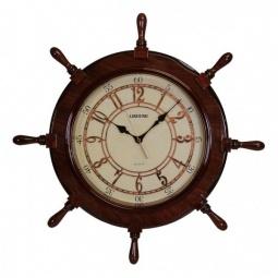 Купить Настенные часы 'Петроторг' (66 см) Штурвал 8069
