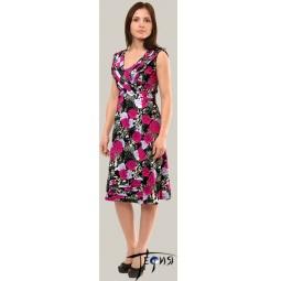 Купить Платье из трикотажного полотна 100 % хб  арт. 6-32