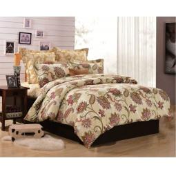 фото Семейный комплект постельного белья Сатин С181-4 Valtery