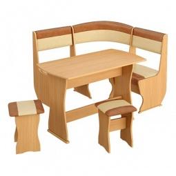 Купить Набор кухонный 'Мебель Трия' Уют-1 К Мини люкс бук/коричневый