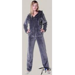Купить Велюровый костюм  арт.  4-133 (серый)