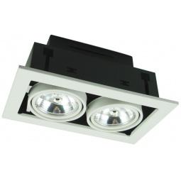 фото Встраиваемый светильник Arte Lamp Technika A5930PL-2WH Arte Lamp