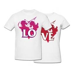 Купить Комплект футболок *LOVE*