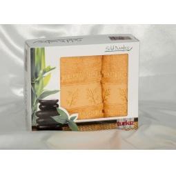 фото Набор полотенец из Бамбука Turkiz 50*90 + 70*140 см plt095-9 Турция