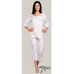Купить Женская пижама из трикотажа 100% хб  арт.  3-26