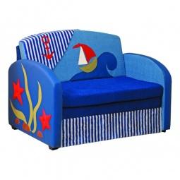 Купить Диван-кровать 'Олимп-мебель' Мася-9 Кораблик 8191127 синий