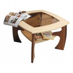Купить 'Олимп-мебель' Стол журнальный Маджеста-1 1180627 ясень шимо темный/ясень шимо светлый