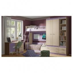 Купить Набор для детской 'Мебель Трия' Индиго ГН-145.019 ясень коимбра/навигатор