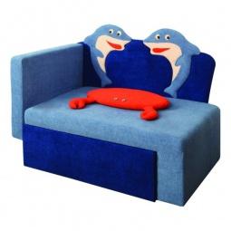 Купить Диван-кровать 'Олимп-мебель' Соната М11-7 Дельфины 8031127 синий
