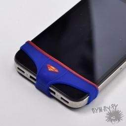 """Купить Трусы для iPhone 4/4s/5 """"Супермен"""" (мужские)"""