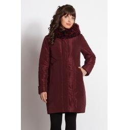"""Купить Пальто """"Алонзо"""" - бордовый"""