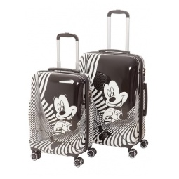 "фото Комплект чемоданов Disney Микки Маус Black 20"" и 24"""