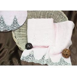 Купить Набор Махровых полотенец Barracouta из 2х штук 50*90 см + 70*140 см plt152-4 Турция