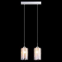фото Подвесной светильник Eurosvet 50001/2 хром Eurosvet
