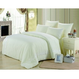 фото Постельное белье Софткоттон с гипюром 2.0 спальное MG-03-2 Valtery