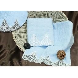Купить Набор Махровых полотенец Barracouta из 2х штук 50*90 см + 70*140 см plt152-1 Турция