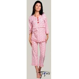 Купить Женская пижама из трикотажа 100% хб  арт.  3-21