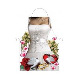 Купить Прикольный фартук *Невеста*