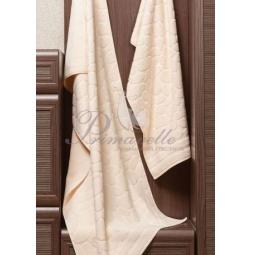 Купить Махровое полотенце Piera бежевое 50х90 см 30413 Примавель