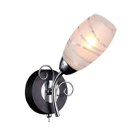 Купить Бра IDLamp Edwidge 846/1A-Blackchrome IDLamp