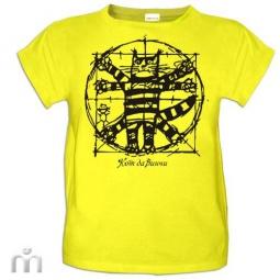 Купить Детская футболка «Кот да Винчи (2)»