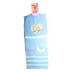 Купить Набор шапка+шарф Принцессы, голубой