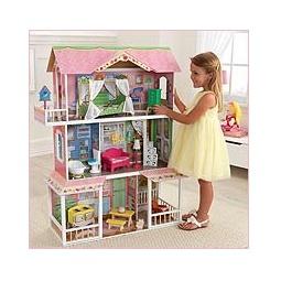 Купить Кукольный домик для Барби КАРАМЕЛЬНАЯ САВАННА