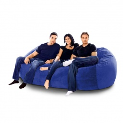 """Купить Бескаркасный диван """"Trace Blue"""""""