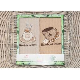 фото Набор полотенец для кухни из 2х штук с вышивкой PLT180-8 Tango