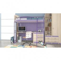 Купить Набор для детской 'Мебель Трия' Индиго ГН-145.002 ясень коимбра/навигатор