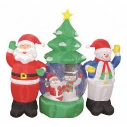 Купить Композиция световая 'Неон-Найт' (1.2x2.1 м) Дед Мороз и Снеговик NN-511 511-053