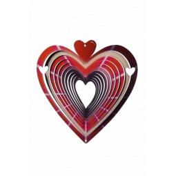 Купить Ветряной спиннер Сердце 25см