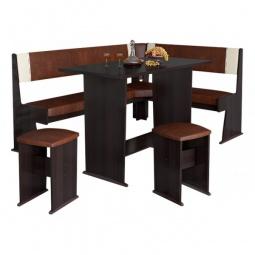 Купить Набор кухонный 'Мебель Трия' Амиго груша монтего/темно-коричневый/бежевый