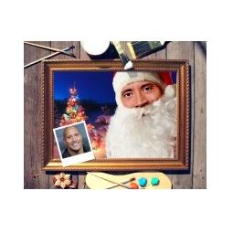 Купить Новогодний портрет по фото *Дед Мороз*