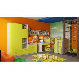 Купить Набор для детской 'Мебель Трия' Аватар ГН-201.002 каттхилт/лайм