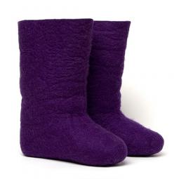 Купить Валенки  женские фиолетовые