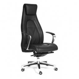 Купить Кресло для руководителя 'Chairman' Chairman Fuga черный/хром, черный