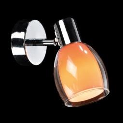 Купить Спот  Eurosvet 2688/1 хром/оранжевый Eurosvet