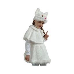 Купить Кошечка белая, рост 122-128