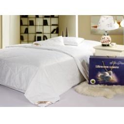 фото Шелковое одеяло Хлопок шелк легкое 1000 гр 140х205 см 04054 Silk-Place