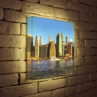"""Купить Лайтбокс """"NYC 3"""" 35x35-111 FotonioBox"""