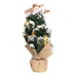 Купить Ели новогодние 'Сибим' Ель новогодняя (45 см) с украшениями ИТ1 45 (золото)