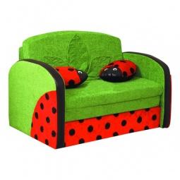 Купить Диван-кровать 'Олимп-мебель' Мася-9 Божья коровка 8181127 зеленый/красный