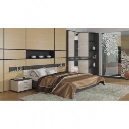 Купить Гарнитур для спальни 'Мебель Трия' Сити ГН-194.002 тексит/каттхилт