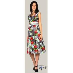 Купить Трикотажное платье 100% хб  арт.  6-04
