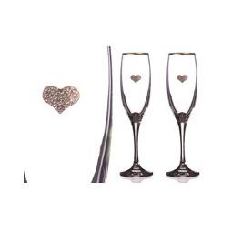 Купить Набор бокалов для шампанского 'АРТИ-М' 802-510-09