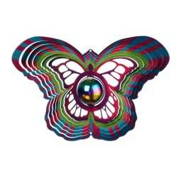 Купить Ветряной спиннер Бабочка с перламутровым шаром 25см