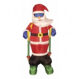 Купить Дед Мороз световой 'Неон-Найт' (1.8 м) на лыжах NN-511 511-207